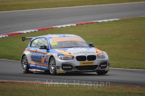 Rob Collard in Touring Car action during the BTCC 2016 Weekend at Snetterton