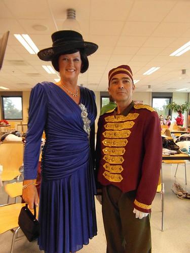 201308 FlowerParade kl Anja vdS en Richard