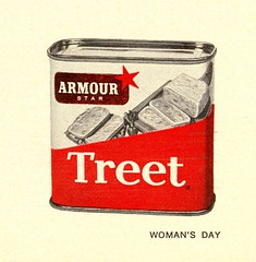 1958-Woman's Day (File Photo Digital Archive) Tags: 1950s 50s 1958 58 advertising vintage womansday portrait people indoor monochrome text