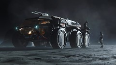 Ursa Rover 01 (starcitizenhungary) Tags: rover rsi ursa screenshot planetside planet