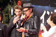 Independence Day: Resurgence Japan Premiere: Liam Hemsworth & Jeff Goldblum (Dick Thomas Johnson) Tags: japan tokyo minato roppongi      roppongihills  roppongihillsarena  movie film premiere moviepremiere event   japanpremiere independencedayresurgence  liamhemsworth  jeffgoldblum   todanatsuko