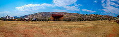 Kloofendaal Amphitheatre, Johannesburg (Paul Saad (( ON/OFF ))) Tags: amphitheatre kloofendaal johannesburg botanical garden pano panoramic panorama hdr mountain nature reserve rocks walk outdoor nikon sky color blue hill land