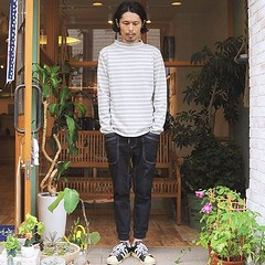 August 28, 2016 at 11:16AM (audience_jp) Tags: shop style  indigo fashion tokyo   sung   audience   casual japan  border