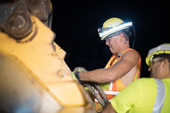 D6084_CM-313 (MoDOT Photos) Tags: nightworkzone modot i70 exitramp bycathymorrison d6084 maintenance concretereplacement heavyequipment safetygear harthats safetyglasses reflectiveshirts lights cones saw midway missouri