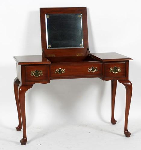 Henkel Harris Dressing Table w/ Mirror & Stool  ($784.00)
