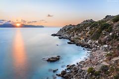 Tramonto ai Francesi (ettorelomb) Tags: aspra beach sunset palermo longexposure tramonto colors sicily francesi spiaggia italy