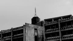 Revelation 88 (Pulpolux !!!) Tags: wtc mexicocity concrete building aged skyscrapper construction abandoned urban bw