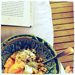 Morgenmsli (!Claro) Tags: neworleans holiday summer msli healthy food buch book vomendedereinsamkeit