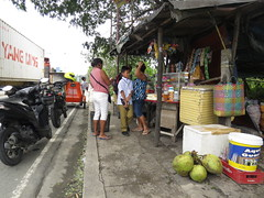 refreshments (DOLCEVITALUX) Tags: roadsidestore store reststop canonpowershotsx50hs philippines drive motorists truckers coconut coconuts
