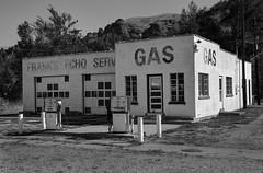 Frank's Echo Gas (arbyreed) Tags: arbyreed bw abandoned disused forgotten old gasstation carservice servicestation echo echocanyon summitcountyutah