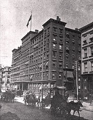 Windsor Hotel on 5th Ave. New York City (SSAVE w/ over 6 MILLION views THX) Tags: windsorhotel fifthavenue 5thave newyork newyorkcity 1891 horseandwagon
