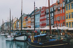 Kbenhavn (Lucas Marcomini) Tags: travel architecture streetphotography lucasmarcomini wanderlust wander adventure backpacking city river boats colors buildings houses nihavn explore urban tourism traveling trip europe european exploring exploration windows design