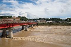 (23fumi) Tags: d600 nikon tamron a09 tamronspaf2875mmf28xrdi river muddystream      bridge