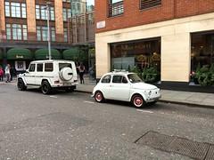 1970 Fiat Nouva 500 (mangopulp2008) Tags: harrods 1970 fiat nouva 500 grancafflondra