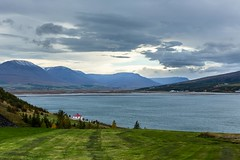 Autumm in Eyjafordur Iceland (Einar Schioth) Tags: akureyri autumm autummcolors water sky day canon clouds cloud coast shore nationalgeographic ngc nature mountains mountain landscape photo picture outdoor iceland sland einarschioth