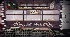 Majesty- Sushi, Anyone? (Ebony (Owner Of Majesty)) Tags: aphroditeshop aphroditeshopsl aphrodite boon boonkura ccb creatorscollectionbox rhdesignhouse anhelo majesty majesty2016 majestysl homeandgarden homedecor outdoorliving outdoor sushi foodie food yummy fooddrinks foodies