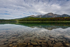 The lake is my happy place. (Josiane . On&Off) Tags: rockymountain rocks reflection landscape lake albertarockymountain alberta canada clouds nikon nature nationalpark nikon1635mm d750 outdoor mountains summer trees pine
