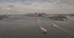 ... ferry ... (wolli s) Tags: ferry flickr heli helicopter nc ny nyc newyorkcity newyork usa us ferries fähre ngc aida kreuzfahrt skyline
