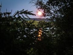 Full moon (hickamorehackamore) Tags: 2016 ct ctriver canon connecticut connecticutriver haddam haddammeadows fullmoon sandbar statepark summer sunset