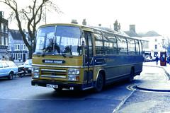 Slide 073-38 (Steve Guess) Tags: bus west sussex horsham england gb uk tillingbourne tony mccann bedford plaxton coach carfax nmj279v