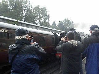 Flying Scotsman at the SVR