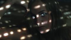 241/366: glance i (Andrea  Alonso) Tags: girl woman eyes light luz 366 365 portrait selfportrait autorretrato retrato