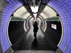 London_DSC_0146F (JPPimenta) Tags: girl tube london art artistic vanishing point street photography otw