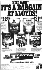 Lloyds (November 1983) (RS 1990) Tags: microfilm newspaper retro australia lloyds hardware november 1983 adelaide southaustralia