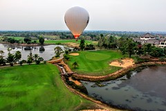 Abandoned Golf Club (cattan2011) Tags: cambodia sunset hotairballoon waterscape naturephotography natureperfect nature landscapephotography landscape travel phnompenh