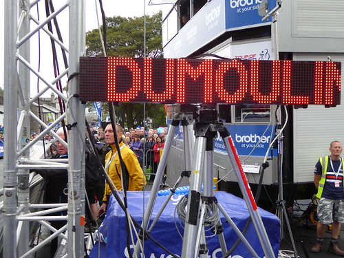 The LED gives off the top 9: 8th Tom Dumoulin