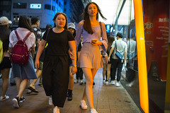 Night style () Tags: leica leicam240p leicam leicamp konica konicahexanonuc35f2 35mm f20 f2 hexanon hongkong shatin street streetphotography people candid city stranger mp m240p m240 publicspace walking offfinder road travelling trip travel    asia girls girl woman  wideopen mongkok kowloon