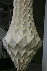 20120131_3997process-3 ([a] rudanovski) Tags: sculpture paper paperart paperfolding zigzag folding papersculpture paperworks 3dpaper paperinstallation paberikunst bigfolds