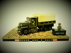 "GMC CCKW ""Deuce and a Half"" (Project Azazel) Tags: google lego pa ba googleimages usmarines deuceandahalf brickarms heavyhauler legomilitary thesecondworldwar ww2vehicles gmccckw legoww2 legowwll projectazazel legomilitarymodel legodeuceandahalf legogmccckw"