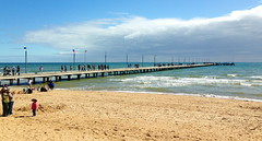 mar13 875 (raqib) Tags: blue sea sky beach mobile pier australia melbourne rc frankston iphone shadesofblue frankstonpier raqib raqibchowdhury