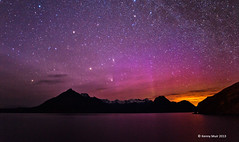 Elgol lightshow (Kenny Muir) Tags: skye lights scotland aurora northern cuillin elgol panstarrs