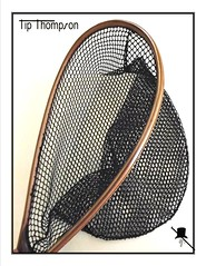 thompson fishing net- handcrafted american (Hayden Mcilvain) Tags: usa flyfishing thompson americanmade shelbyvilletn