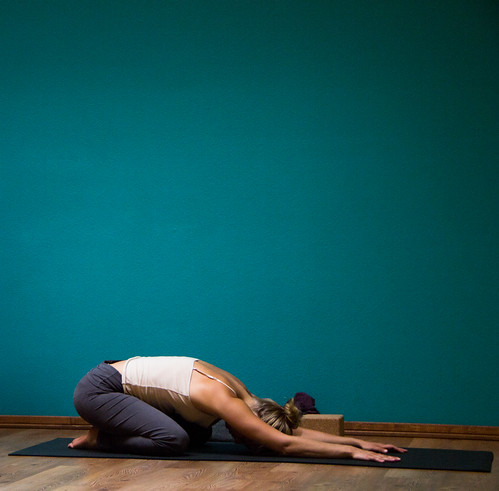 Child's Pose | Balasana by uwenna, on Flickr