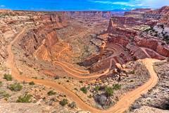 Shafer Trail (Jeremy Duguid) Tags: park travel nature canon point landscape utah bravo desert horizon arches jeremy canyon trail national canyonlands moab duguid shafer 5dmkiii dcpt jeremyduguid