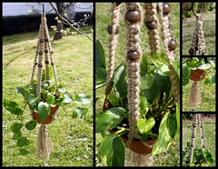 Hermione - Natural Jute Handmade Macrame Hanging Planter (Macramaking- Natural Macrame Plant Hangers) Tags: brown green coffee beauty hippies garden fun beads natural gardening handmade farm decorative character cottage creative craft ivy northcarolina funky fresh deck earthy 70s naturist hanging americana balance fengshui flowing etsy cocoa boho decor caribou frontporch groovy knots hang caff bohemian homedecor hanger macrame chunky hermione earthday madeinusa ecofriendly accessory conversationpiece hangingbasket naturalist artscrafts jute bohochic containergardening macram hangingplanter macramebeads decorativeknotting mothersdaygifts macrameplanthanger macramakin macramaking httpwwwetsycomshopmacramaking macramecord indoorplanters macrammacramaking herbhanger naturaljute macrametechnique macramehangingbasket macrameweaving macramelove