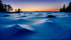 The ice desert [Explore] (Jens Sderblom) Tags: ocean winter sunset sea snow seascape ice water landscape evening spring nikon sweden outdoor sigma sverige scandinavia archipelago hav roslagen icescape utomhus fjrd landshav singo d7000 skargarden ostersjon singfjarden