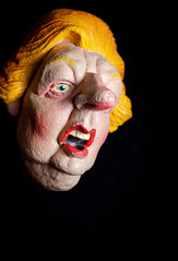 Margaret Thatcher 1925 - 2013 (dooogewalah) Tags: portrait dead toy image puppet political satire 80s luck margaret latex obituary flaw 1925 spitting thatcher died deceased satirical passedaway 2013