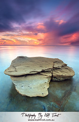 Burwood (Kiall Frost) Tags: longexposure sky seascape beach water rock clouds sunrise newcastle print landscape photo image australia le nsw burwood kiallfrost nikond800e