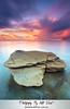 Burwood (Kiall Frost) Tags: longexposure sky seascape beach water rock clouds sunrise newcastle print landscape photo image australia le nsw burwood kiallfrost nikond800e