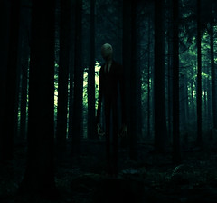 Slenderman (batabidd) Tags: light shadow forest photoshop dark square luces woods artistic digitalart creative creepy textures digitalpainting bosque photomontage creature sombras textured oscuro urbanlegend batabidd slenderman