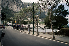 High street on Capri