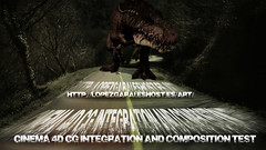 Cinema 4D CG  Integration and composition test movie (Diseo audiovisual) Tags: camera test cinema motion film composition speed movie effects lumix 3d cg experimental graphic dinosaur country cartoon spyder panasonic skate animation cs after fx amateur diseo ilustration 4d integration grafico dinosaurio especiales efectos youtube urkulu gh2 vasc ara