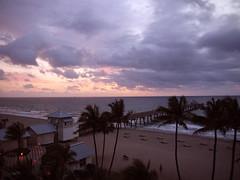 Deerfield Beach at sunrise (14) (moelynphotos) Tags: ocean trees beach sunrise palms florida atlantic shore deerfieldbeach moelynphotos