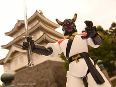 (tsukasatan696) Tags: toy outdoor ninja figure saitama org jiraiya toyphotography gyoda oshicastle  outdoortoyphotography  dokusai sekaininjasenjiraiya