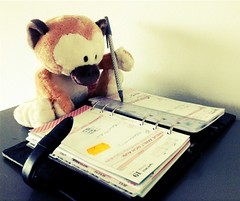 #fflovephotoaday - Day 19: At Work (iris30606) Tags: nici baroque filofax uploaded:by=flickrmobile flickriosapp:filter=chameleon chameleonfilter fflovephotoaday
