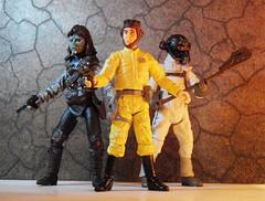 "3 of my ""battle of carkoon"" custom figures. (Pato Berroeta) Tags: star action figure wars custom figuras figures oren customs accion figura orren doallyn yotts gailid"